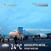 Photo taken at Adisutjipto International Airport (JOG) by Eshape B. on 4/7/2013