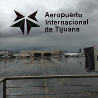 Photo taken at Aeropuerto Internacional de Tijuana (TIJ) by Brenda V. on 3/8/2013