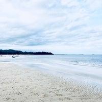 Photo taken at Tung Wua Laen Beach by Patrick B. on 6/17/2018