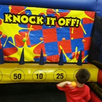 Photo taken at Pump It Up by Leslie Y. on 7/14/2013