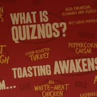 Photo taken at Quiznos by Kahuna Matata on 2/19/2013