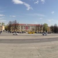 Photo taken at Площадь им. В.И. Ленина by Эльдар Б. on 5/15/2013