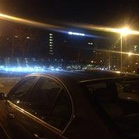 Photo taken at Parking kod Intera by Marko A. on 2/6/2014