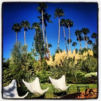 Photo taken at Le Parker Méridien Palm Springs by Silvia A. on 10/5/2013