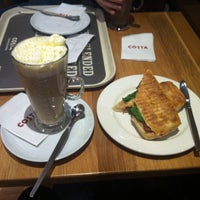 Photo taken at Costa Coffee by Amy J. on 12/9/2015