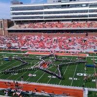 Photo taken at Memorial Stadium by Matthew K. on 9/15/2012