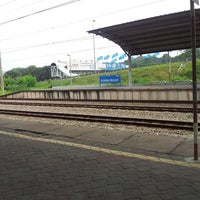 Photo taken at KTM Line - Sungai Buloh Station (KA08) by Mohamad H. on 4/7/2013