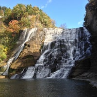 Photo taken at Ithaca Falls by Sharon K. on 10/12/2012
