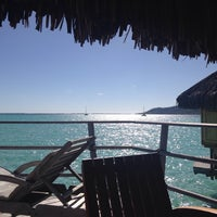 Photo taken at Le Taha'a Private Island And Resort Spa by Julie S. on 8/18/2014