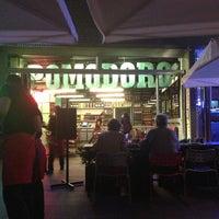 Photo taken at Pomodoro Pizzeria by Maia M. on 4/25/2013