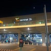 Photo taken at Terminal 2B by Vincze Boskó K. on 5/15/2013