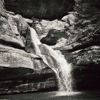 Photo taken at Hocking Hills State Park by Will A. on 3/31/2013