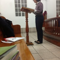 "Photo taken at Iglesia Metodista De Mexico ""Bethell"" by Jessie G. on 3/22/2013"