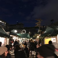 Photo taken at Union Square Holiday Market by Marek H. on 12/22/2016