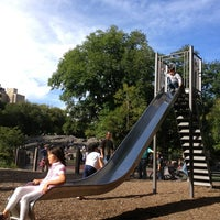 Photo taken at Heckscher Playground by Ilie K. on 9/15/2013