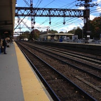 Photo taken at Metro North - Westport Train Station by Ilie K. on 10/24/2013