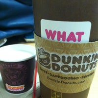 Photo taken at Dunkin' Donuts by Tanya C. on 11/15/2012