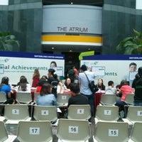Photo taken at SIM Blk A Atrium by KS on 3/15/2014