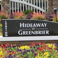 Photo taken at Hideaway at Greenbrier Luxury Apartment Homes by Hideaway at Greenbrier Luxury Apartment Homes on 10/30/2015