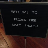 Photo taken at Frozen Fire by Macy E. on 10/10/2013