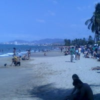 Photo taken at Playa Los Canales by Johan F. on 2/17/2015