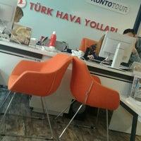 Photo taken at THY Satış Ofisi by Mehmet Kadri Gökalp on 4/11/2016