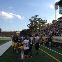 Photo taken at Strawberry Stadium by Roomie the Lion on 10/13/2012