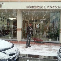 Photo taken at SKY Mühendislik & Dekorasyon by Gökhan G. on 12/11/2013