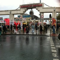 Photo taken at Bakırköy Özgürlük Meydanı by o a. on 11/10/2012