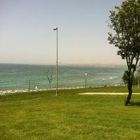 Photo taken at Florya Sahili by o a. on 5/31/2013