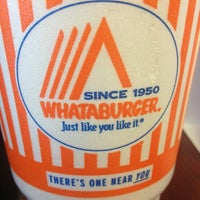Photo taken at Whataburger by Lisa on 3/31/2013