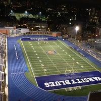 Photo taken at Varsity Stadium by Semih F. on 10/25/2012