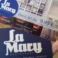 Foto tomada en La Mary Restaurant por eLeNeii el 1/27/2014