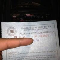 Photo taken at Estacionamiento URP by Eduardo J. on 7/2/2013