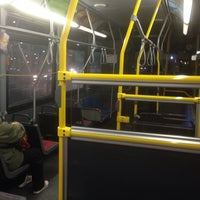 Photo taken at TTC Bus #6 Bay by Lucy T. on 11/21/2015