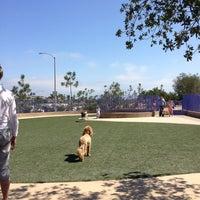 Photo taken at Newport Beach Dog Park by Meg on 7/7/2013