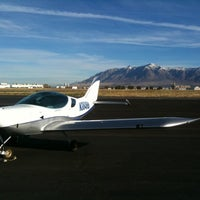 Photo taken at Ogden Hinkley Airport (OGD) by Dave A. on 10/30/2012