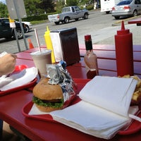 Photo taken at Red Mill Burgers by Danger B. on 6/12/2013
