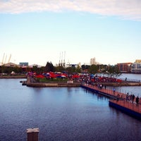 Photo taken at Truck Stop @ Wood Wharf by Eugene T. on 8/2/2013