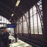 Photo taken at Bahnhof Hamburg Dammtor by Jonas W. on 4/6/2013
