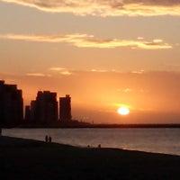 Photo taken at Avenida Beira Mar by Paula Cibele F. on 5/27/2013