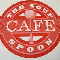 Photo taken at Soup Spoon Cafe by Thomas O. on 9/14/2012