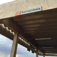 Photo taken at Estação Samambaia - METRÔ-DF by Danilo M. on 10/24/2015