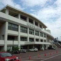 Photo taken at Sendai City Athletic Stadium by 伊集院 龍. on 7/21/2013