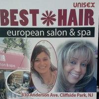 Photo taken at Best Hair European Salon & Spa by Ricky B. on 9/5/2013