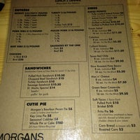 Photo taken at Morgan's Barbecue by S W. on 11/3/2013