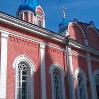 Photo taken at Церковь Тихвинской Иконы Божией Матери by Василий П. on 4/12/2014