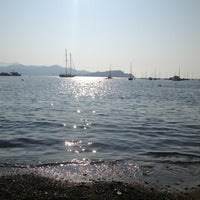 Photo taken at Spiaggia Bagnaia by Alessandro S. on 7/16/2013