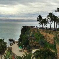 Photo taken at Balcón de Europa by Anci A. on 3/31/2013