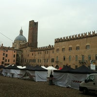 Photo taken at Piazza Sordello by Francesco L. on 10/12/2012